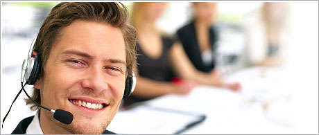 A round-the-clock technical support service